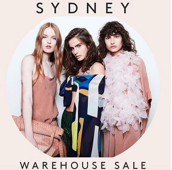 Ginger & Smart Sydney Warehouse Sale