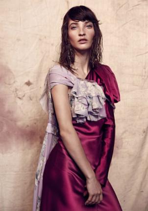 Model Lily Hutchinson |Photographed by Jeremy Choh