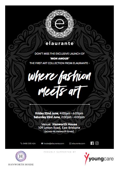 Brisbane creative Louise Owen 'Mon Amour' exhibition