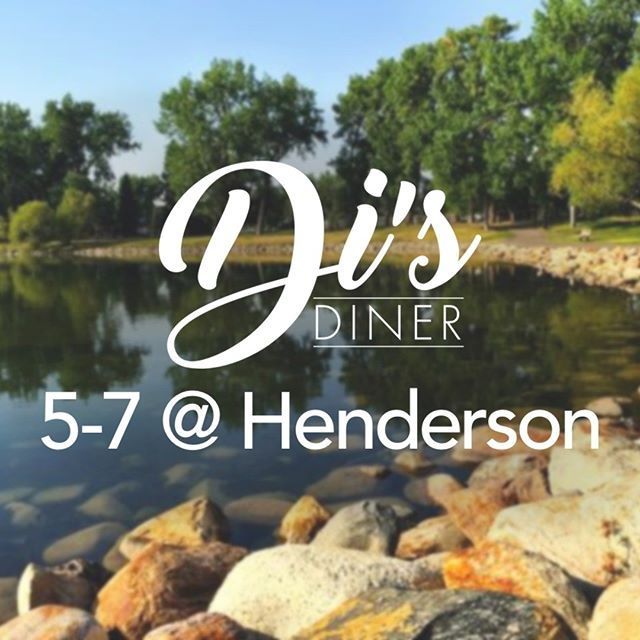 Enjoy the beautiful evening with a stroll around Henderson and a good burger.  #dinnersserved #summerishere #lethbridge #hendersonlake #foodtruck #lethbridgefoodtruck #disdiner