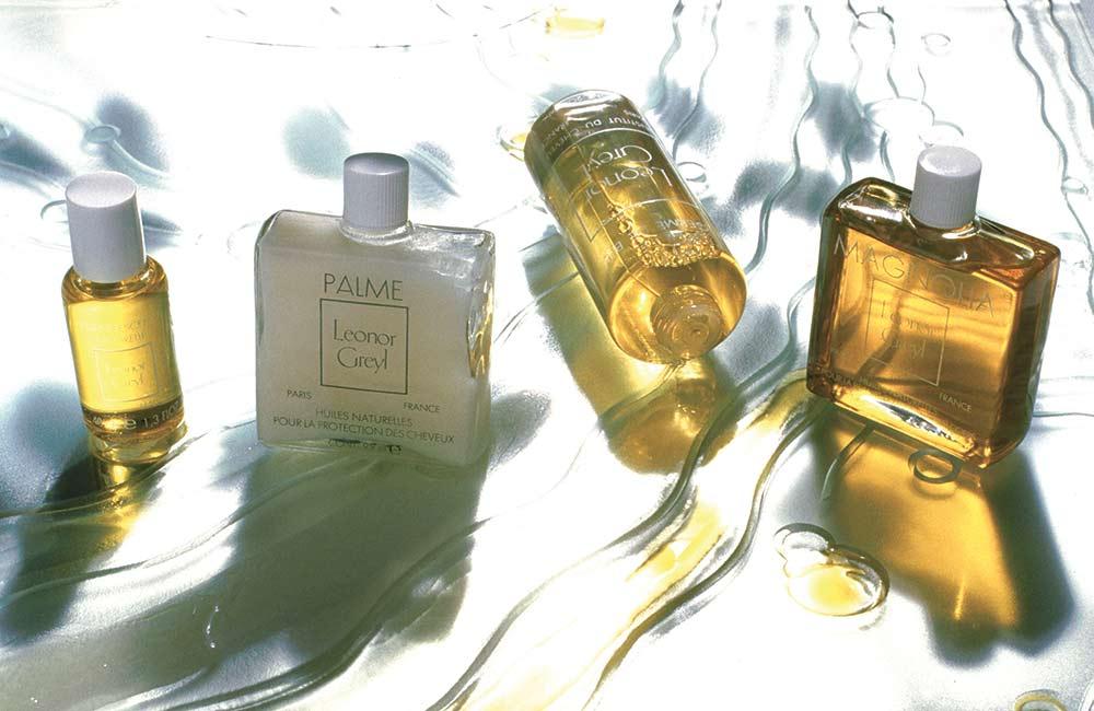 Les huiles mythiques de Leonor Greyl.