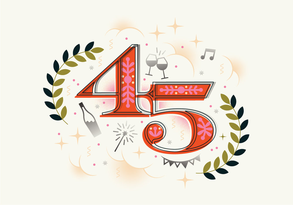 Holiday Happy Hour 2018: Celebrate 45 years with us! - November 6, 2018 by Mark Brownlee