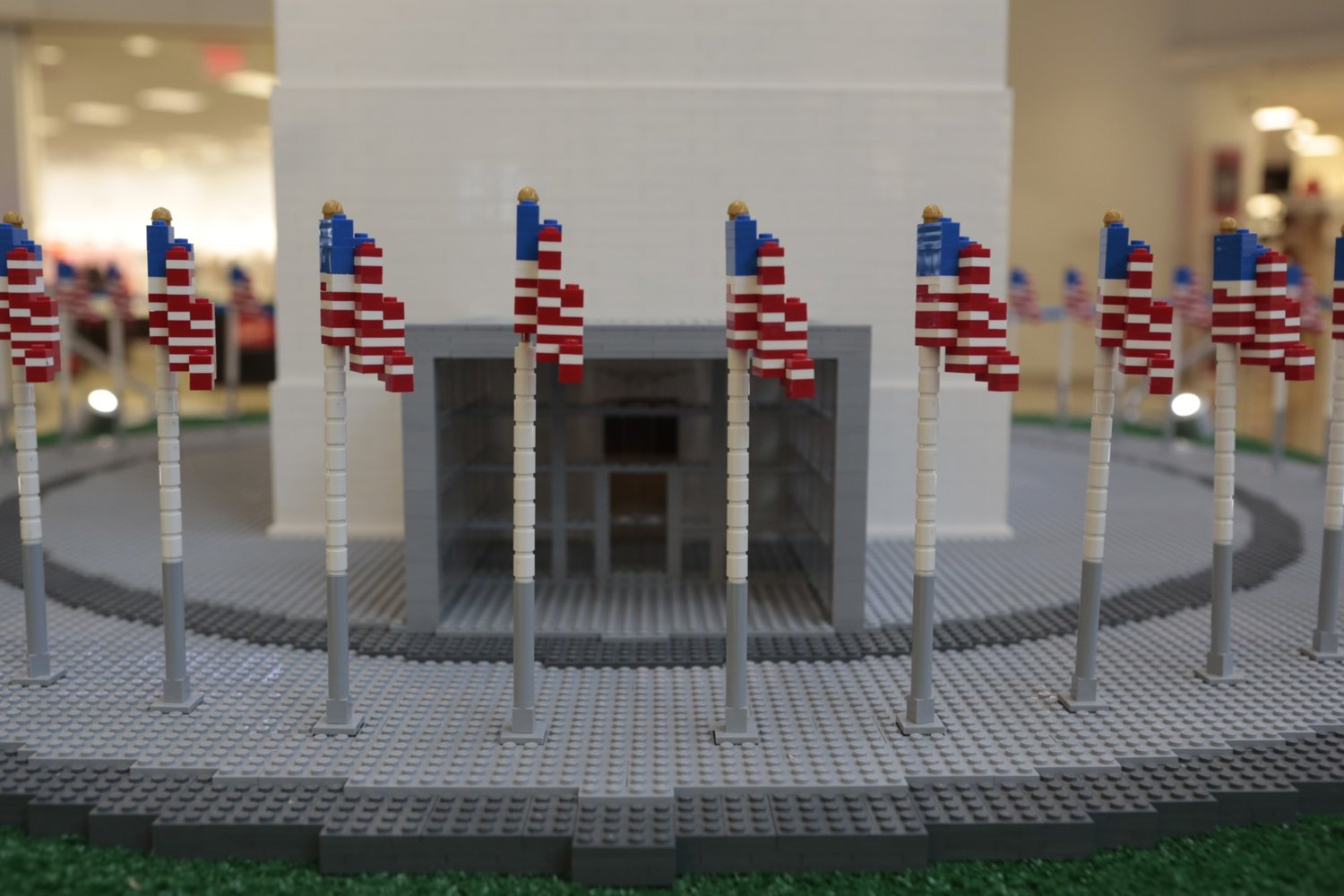 Lego Brand Celebrates American Icons On The National Mall Trust