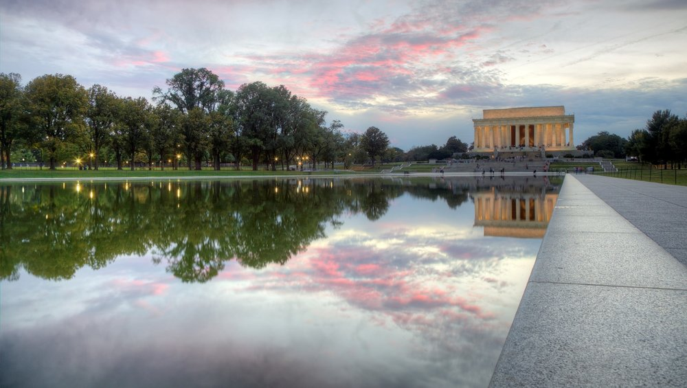 Lincoln Reflecting Pool - Complete