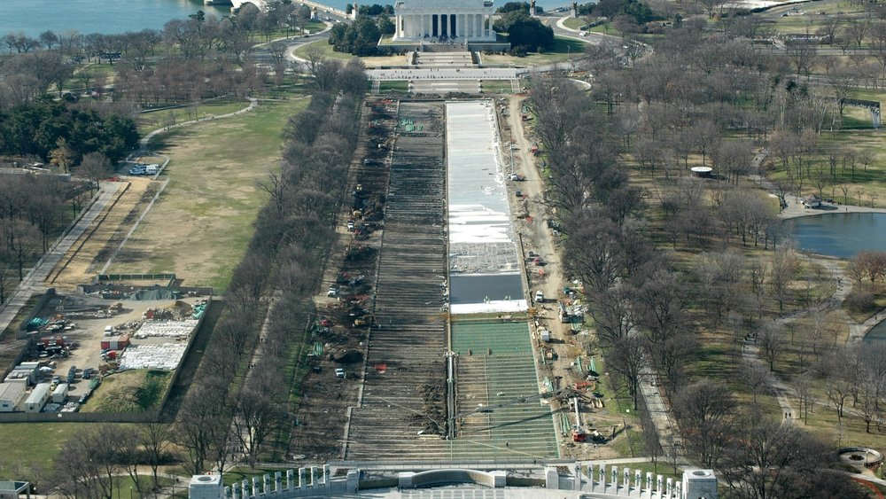 Lincoln Reflecting Pool Restoration