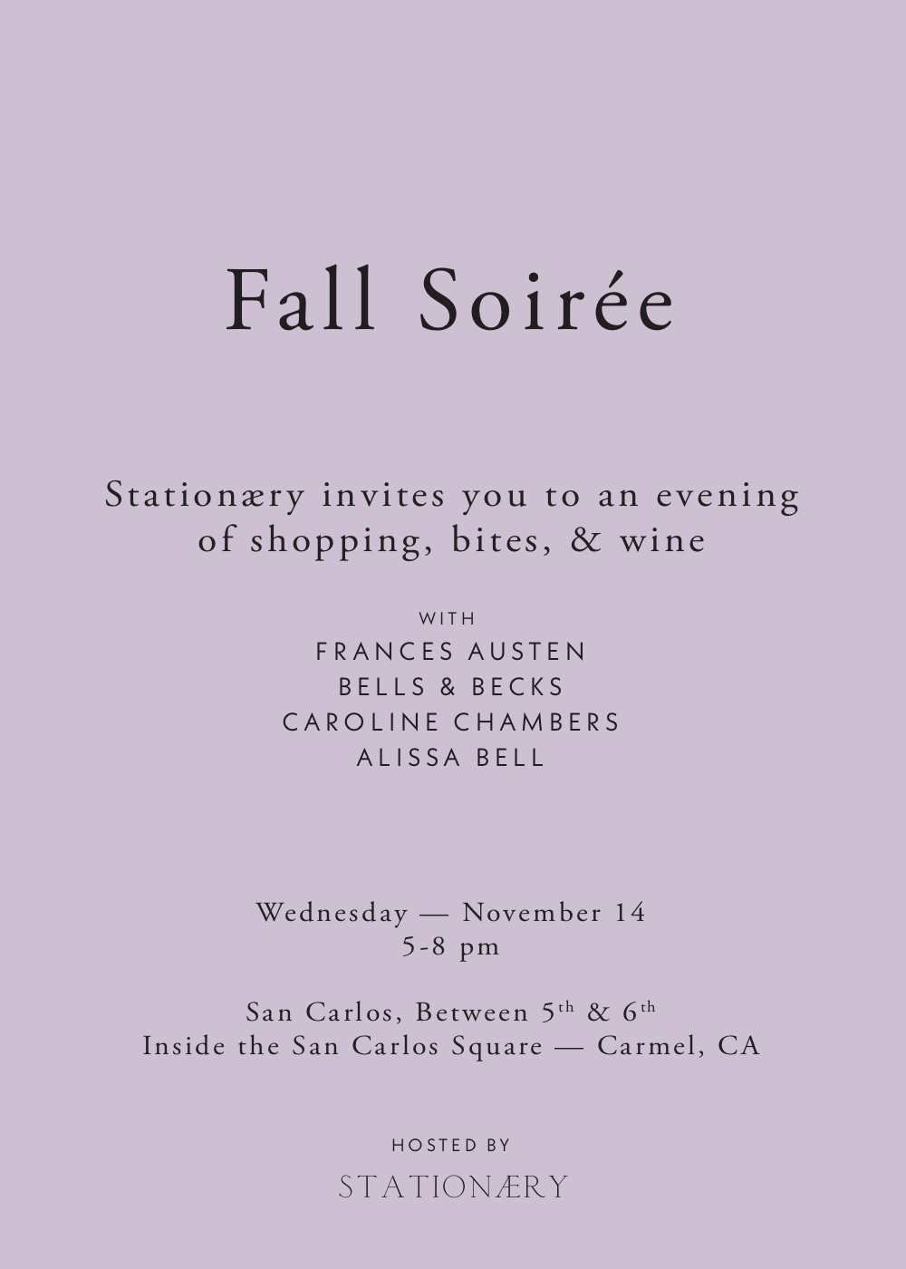 Fall Soiree invitation - Stationaery.jpg