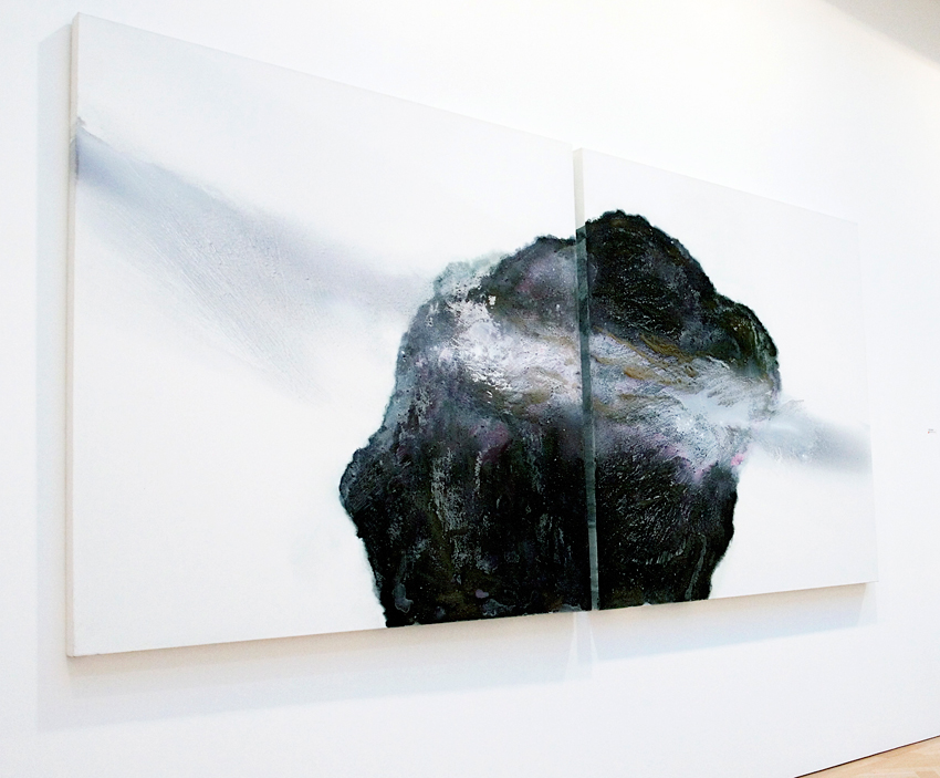 'Rock-(Iceland)'-oil,-grit-on-canvas-diptych-each-panel-150x150x5cm.jpg