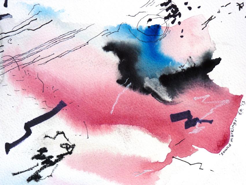 Sound Markings (pink)