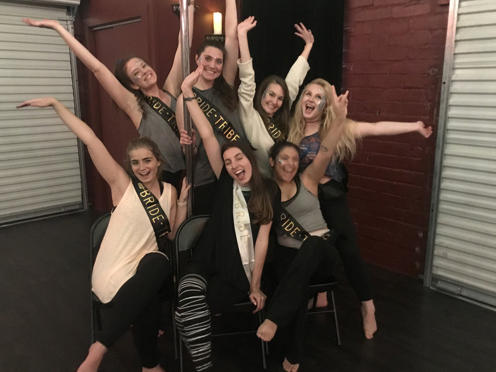"""""""The Lioness"""" Bachelorette Pole Dance Party!"""