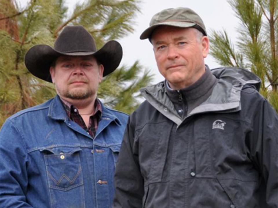 Jay Sheperd & Arron Scotten - Wildlife Biologist and Northeastern Washington Rancher