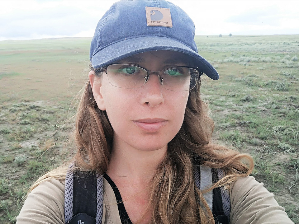 Hila Shamoon - Landscape Ecologist and Mammologist, Smithsonian Conservation Biology Institute's Conservation Ecology Center