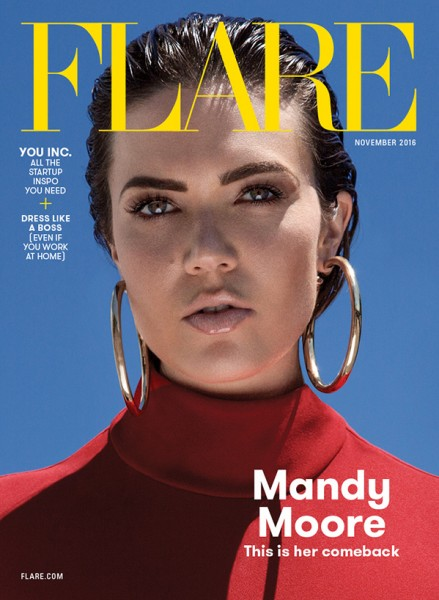 MANDY MOORE - FLARE -