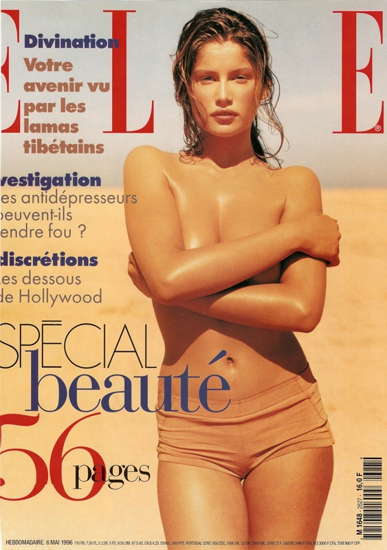 ELLE FRANCE - LAETITIA CASTA BY PHILLIP DIXON