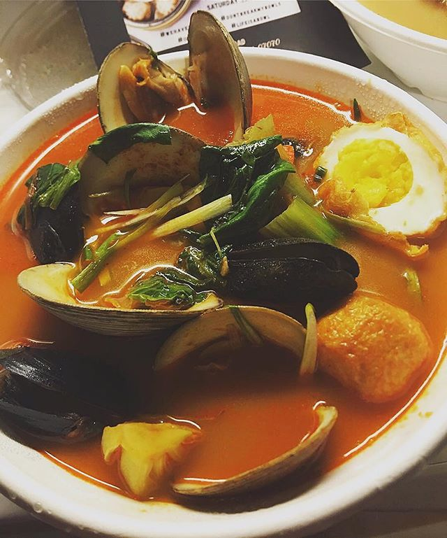 It's a cold one today! Warm up with our Spicy Seafood Big Bowl 🥶🍜🔥 📷 @olivos_r_out #spicyseafoodsoup #soupseason #bigbowlslittleplates            —— #seafood #spicy #soup #wehavebigbowls #bblp #ramen #streetfood #bigbowls #noodlehouse #foodie #njeats #rutherfordnj #secaucusnj #paramusnj #njspots #nomnom #yum #asianfood #ramenlovers #noodle #dimsum #spicyfood #spicy #tgif #olivosrout