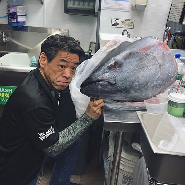 Our very own Chef/Owner, Robert Wong, couldn't pass up the oppor-tuna-ty to give customers a bluefin #tuna preparation demonstration. It was off the hook! 🎣🐟 Stay tuned for more upcoming presentations @bigbowlsparamus @market_eatery #schooled #bluefin #sashimi #bigbowlslittleplates ⁣⁣ ⁣⁣ ⁣ ⁣ ⁣ ⁣ ⁣ ⁣ ⁣ ⁣ ⁣ —— #bluefintuna #fresh #wehavebigbowls #bao #baobuns #bblp #ramen #streetfood #bigbowls #noodlehouse #foodie #njeats #rutherfordnj #secaucusnj #paramusnj #njspots #nomnom #yum #asianfood #ramenlovers #noodles #tunafishing #tunasteak #sushi #seafood