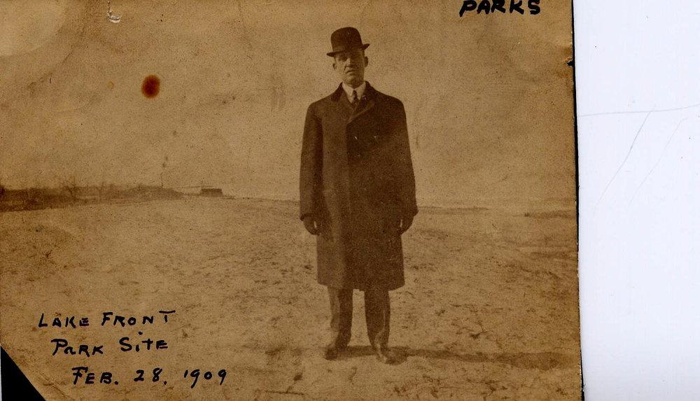 1 - Park Site 1909 Frank Long Councilman.JPG
