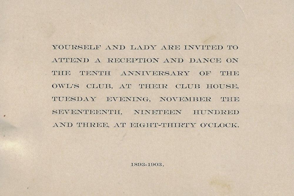 Owls Club Invitation -  1903.bmp.jpg