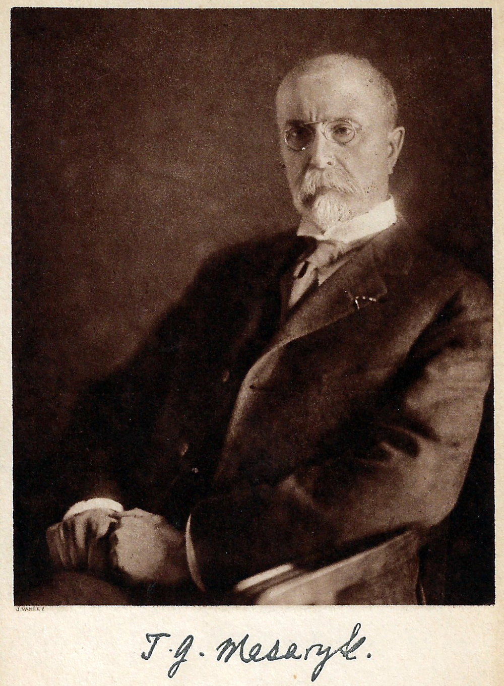 Tomas Masaryk led the effort to recruit Slovaks and Czechs into an army that would fight alongside America and it allies in the World War. After the war he became the first president of the new nation of Czecho-Slovakia.