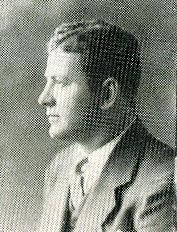 A 1931 photo of Whiting football coach Raymond P. Gallivan.