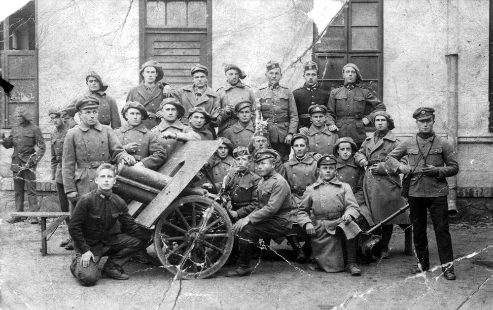 Joseph Hmurovich (2nd row from top, 4th from left) - Czechoslovak Army.jpg