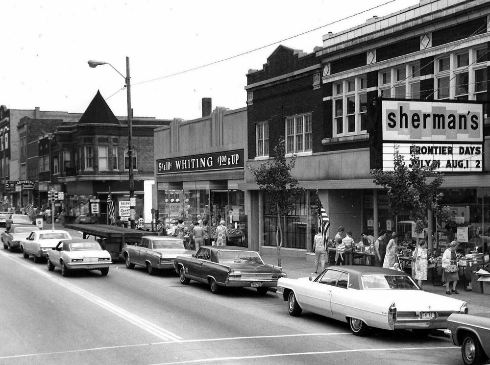 "Sherman's was at 1326 119th Street, while the Whiting Five & Ten was at 1334 119th, currently the home of Levin Eye Care Center. In earlier years, that was the location of an F.W. Woolworth, America's first ""five and dime"" store chain, which is pretty much the same as today's ""dollar stores."" (Lovasko Studio photograph)"