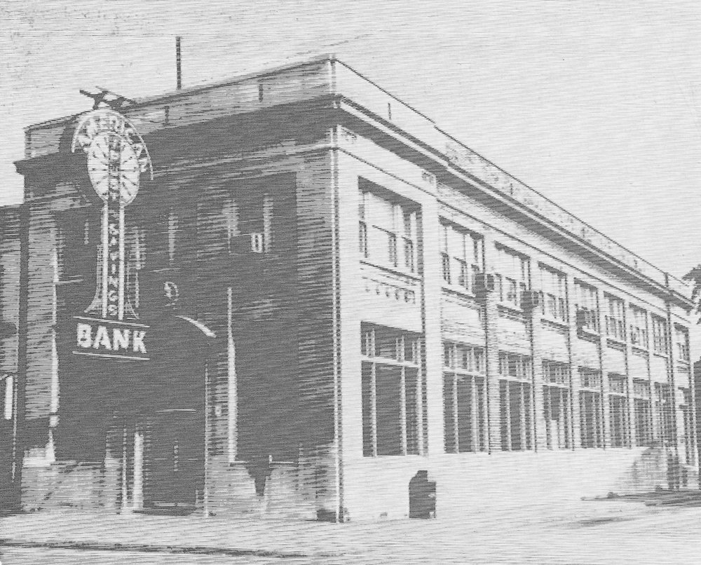 American Trust & Savings Bank started in 1920 at the site of what is today the American Slovak Club. In 1925, it built a new structure across the street, at the corner of 119th and LaPorte Avenue (1321 119th Street), at a cost of $100,000. The ground floor was for banking, while the upper floor was rented out as offices and apartments.