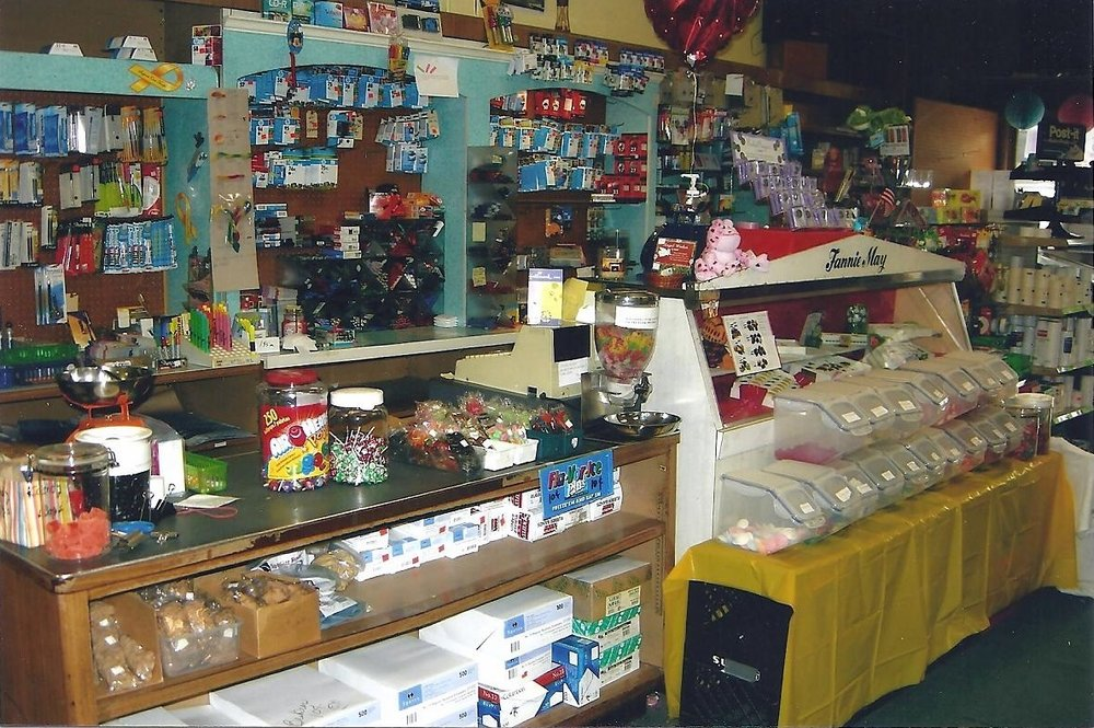 "The interior of Whiting News in 2009, shortly before it closed its doors for good. ""As an adult you paid bills there, bought greeting cards, rosaries and statues there for gifts,"" wrote Gayle Faulkner Kosalko. ""As a kid you went in at least once a day for penny candy."" Whiting News goes back to the 1890s, but moved to 1417 119th Street in 1929."