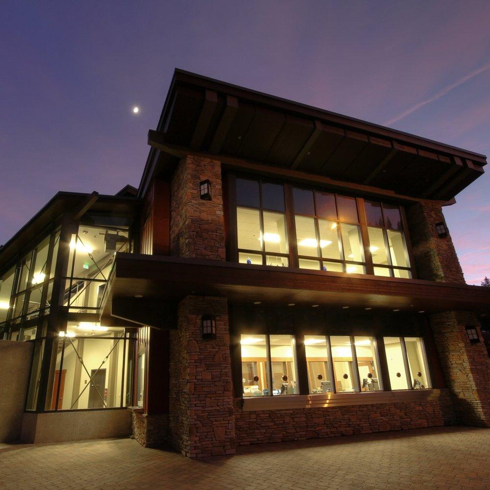base lodge and skier services at diamond peak ski resort -