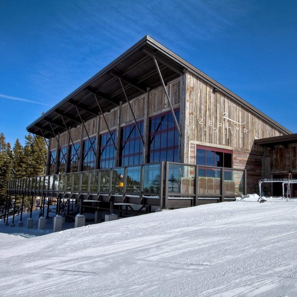 zephyr lodge at Northstar lake Tahoe ski resort -