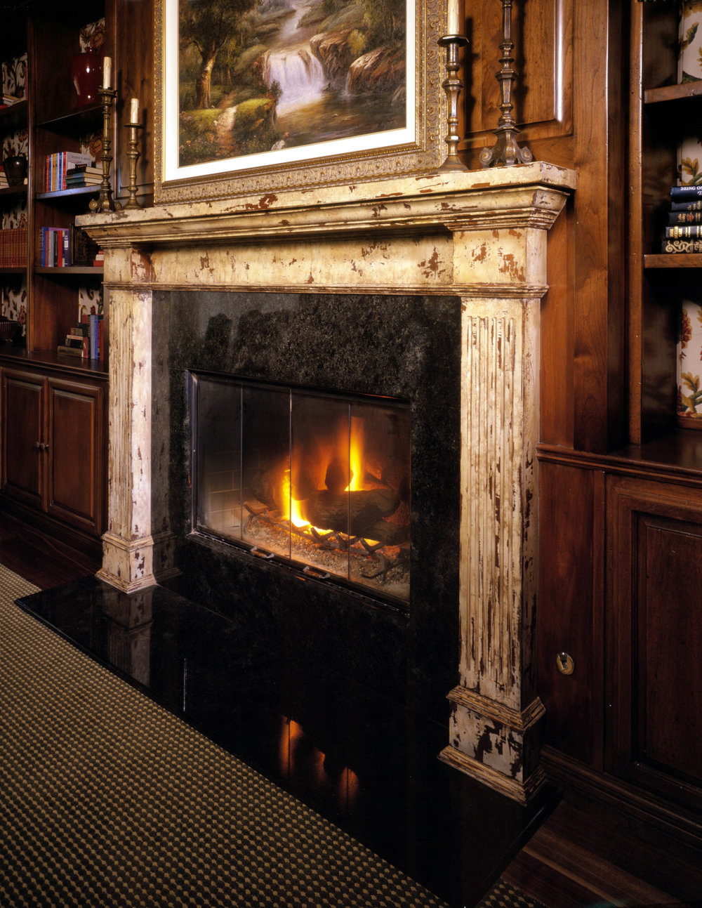 Genoa Lakes Supper Club Fireplace.JPG