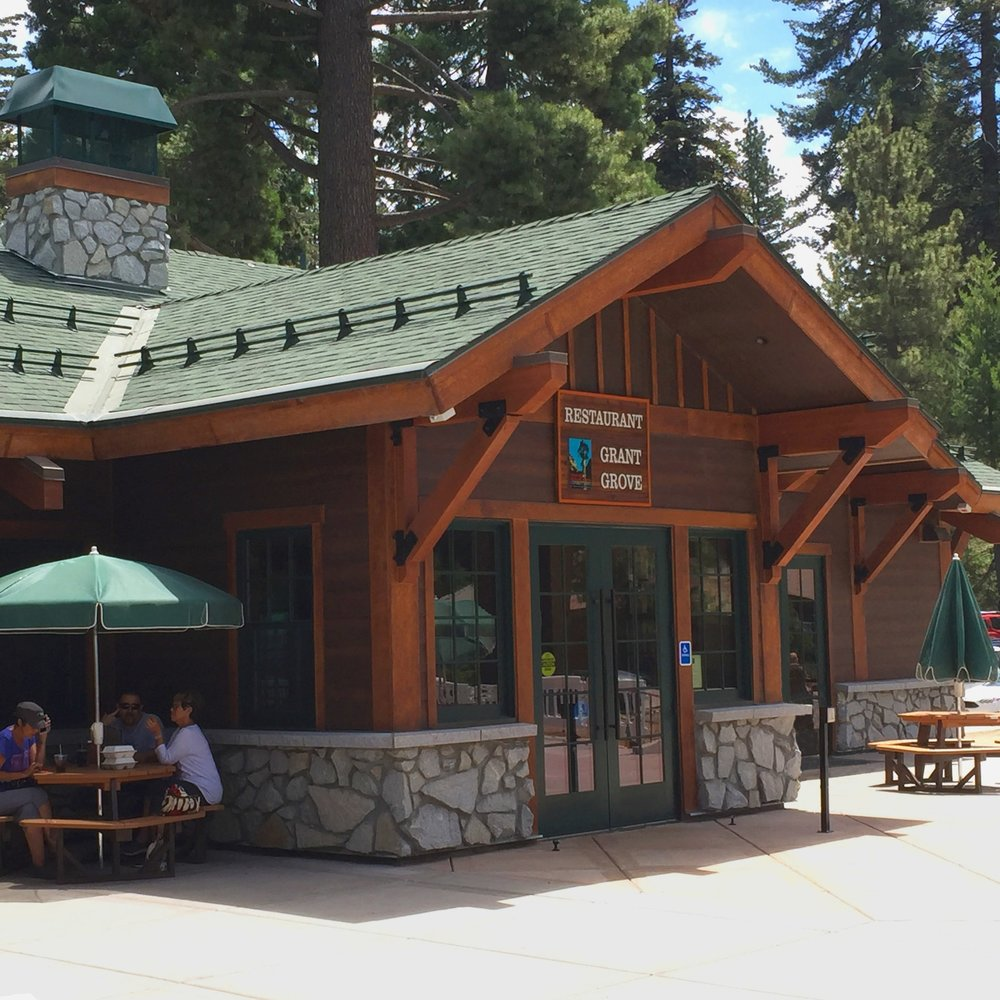 Grant Grove Restaurant at kings canyon national park -