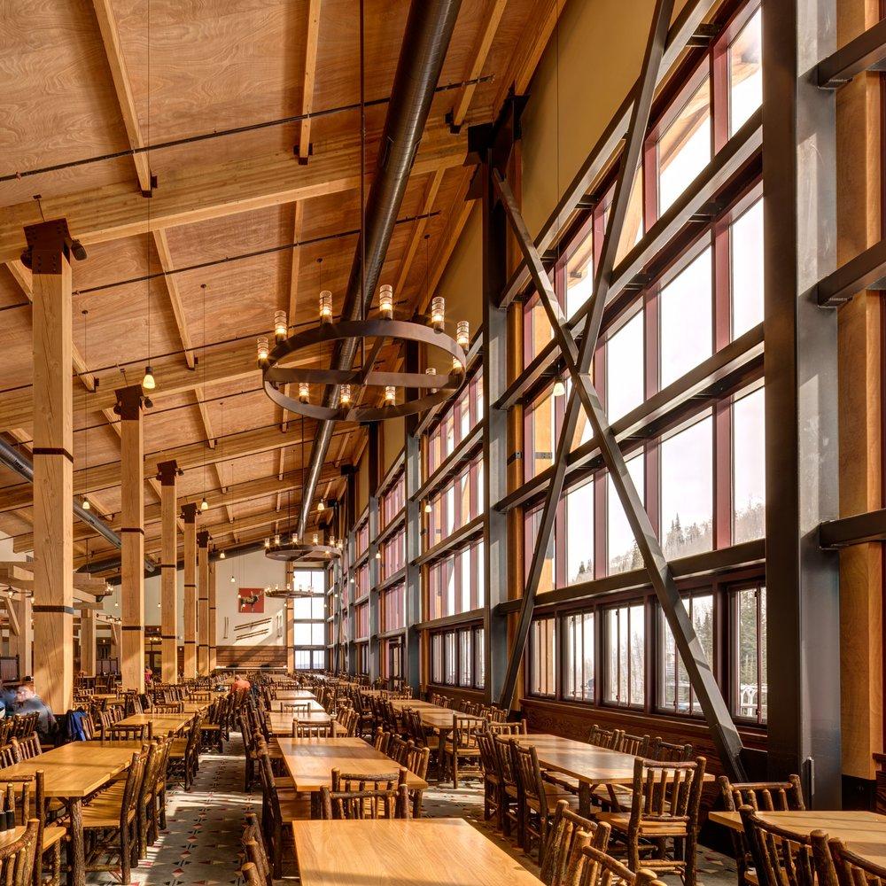 Park City Ski Resort Miner's Camp lodge -