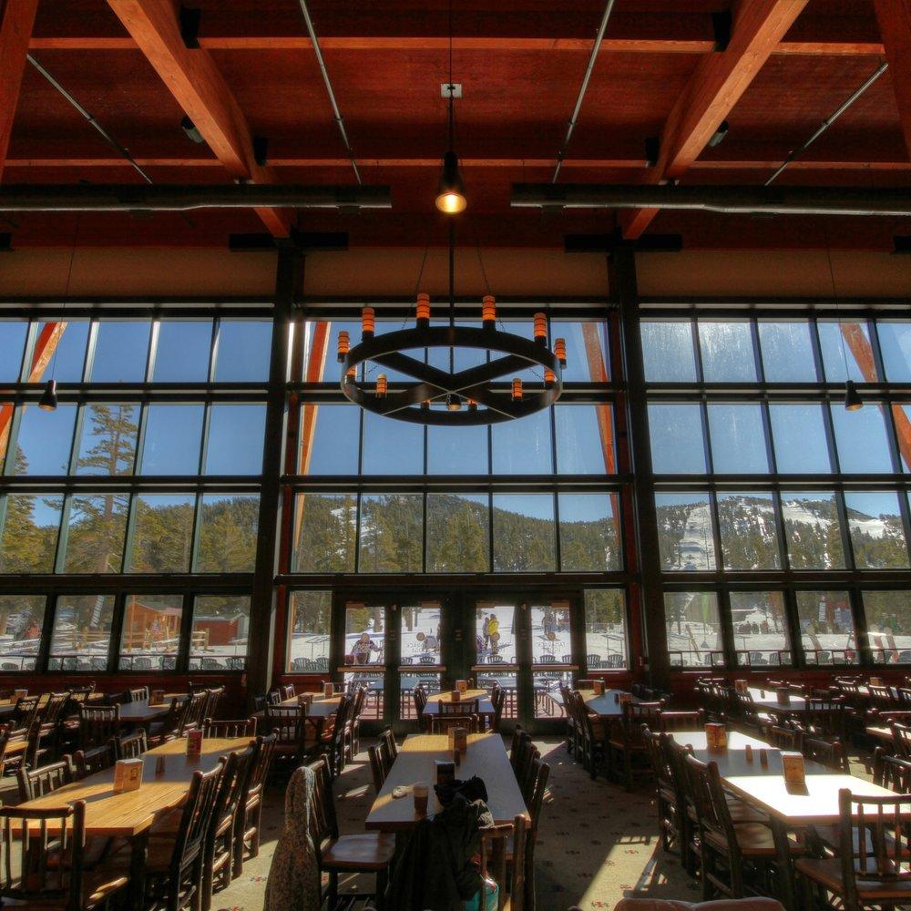 Tamarack Lodge at heavenly ski resort -