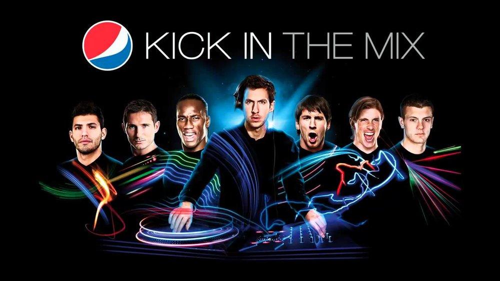 Pepsi Kick in the mix - 3D modeler