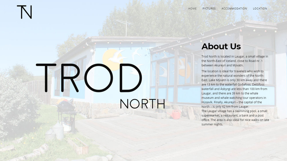Trod North Guesthouse - Design and photography