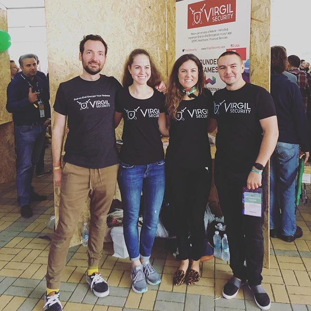 Men (and Women) in Black. 😎 #VirgilWorldTour #Webit