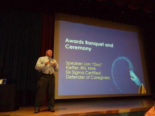 NADONA Annual awards banquet ` Aneheim, CA
