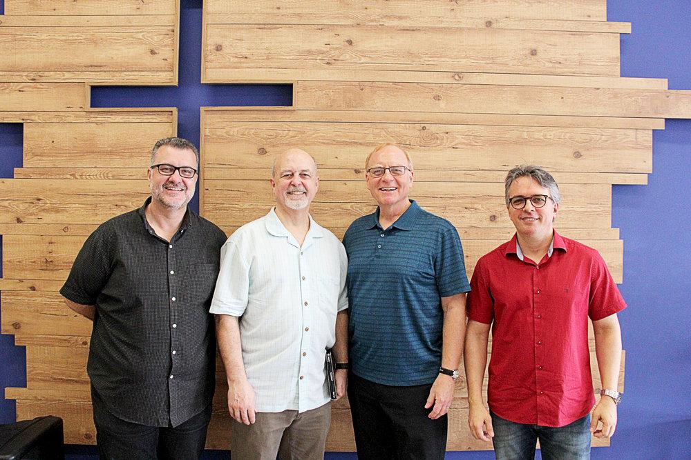 Fabiano, Bert, Larry & Marco
