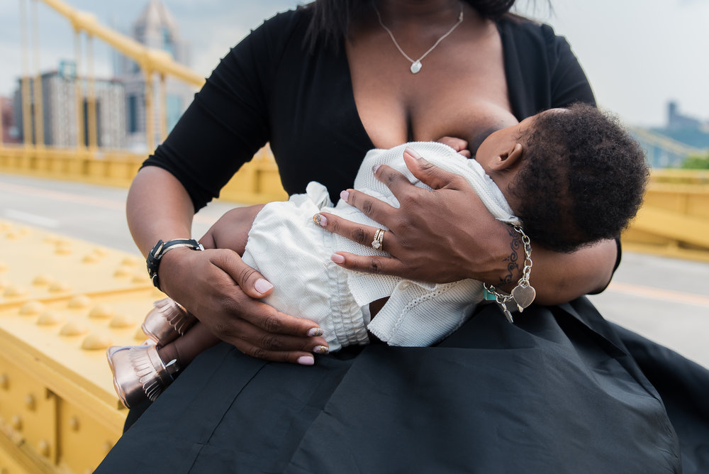 Breastfeeding woman of color pittsburgh