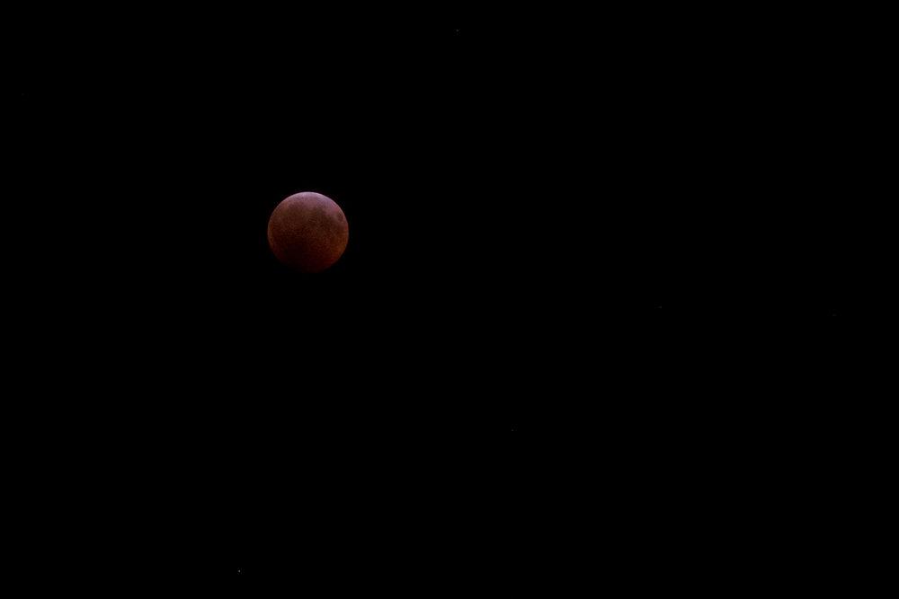 January blood moon