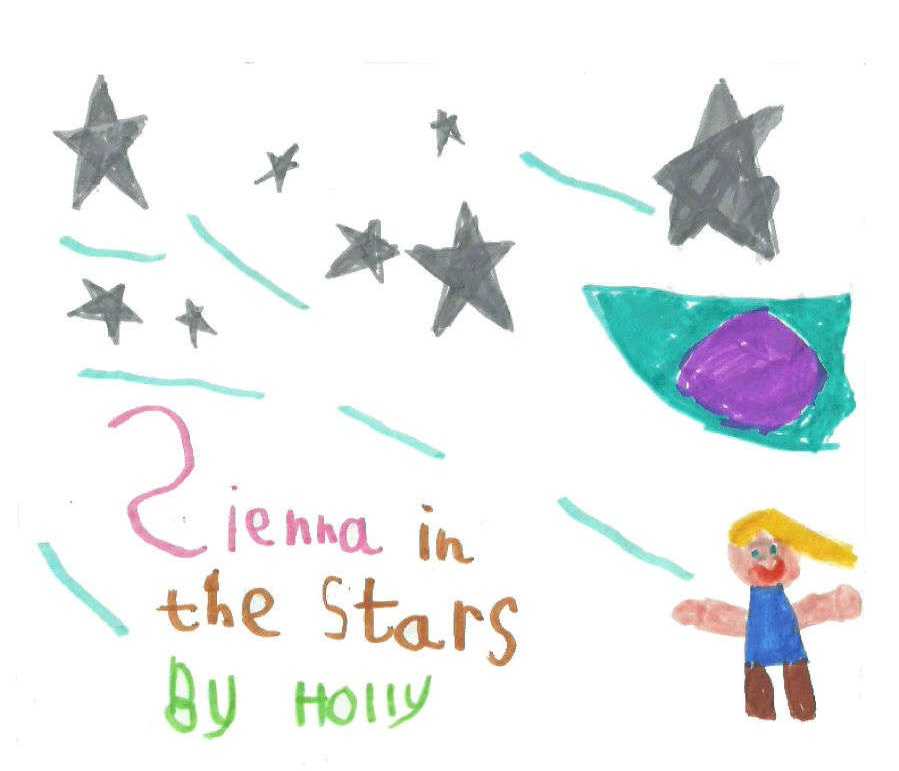 Sienna in the Stars - Games 4 Geeks is very pleased to be able to present to you Sienna in the Stars, the debut game designed by Holly Stallard (aged 5 1⁄2).Sienna in the Stars is an abstract game, which avoids 'take that' mechanics, so could probably be classified as a 'Eurogame'. While some might look at the dice-rolling involved as reducing the outcome to luck, I can assure you that the winner is not random, as I have yet to beat the designer at her game.I hope you enjoy this masterpiece of a game as much as we have.