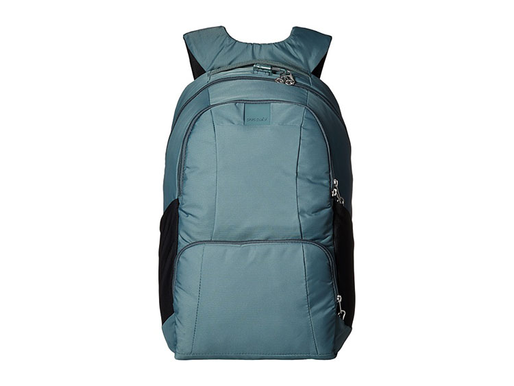 PacSafe Metrosafe Backpack, 25L, Forest Green