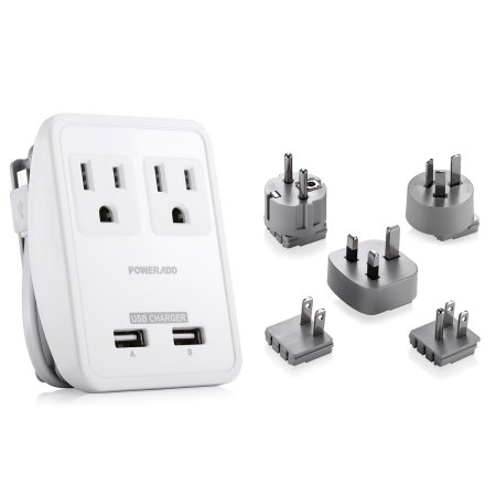 Poweradd Outlet Adapter Kit