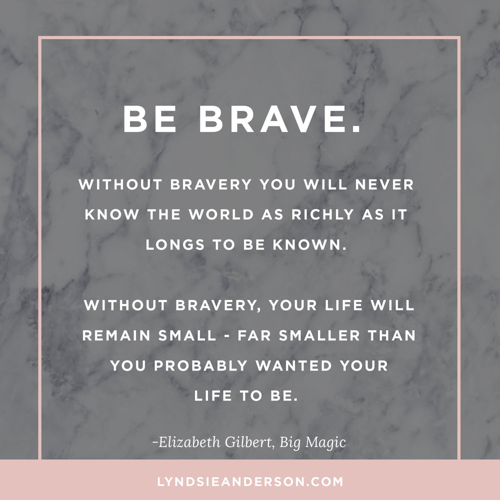 Elizabeth Gilbert Favorite Big Magic Quotes