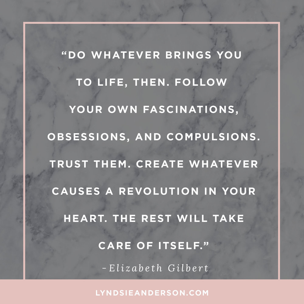 Big Magic Quote Elizabeth Gilbert