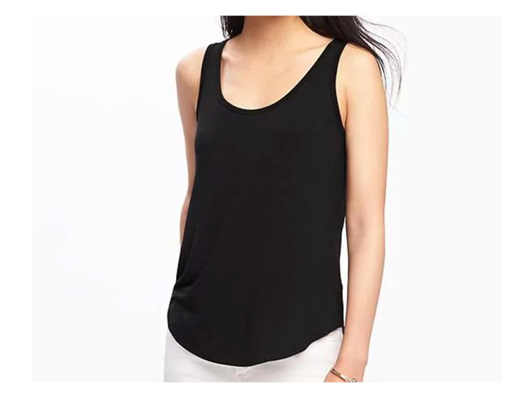 Old Navy Luxe Curved-Hem Tank