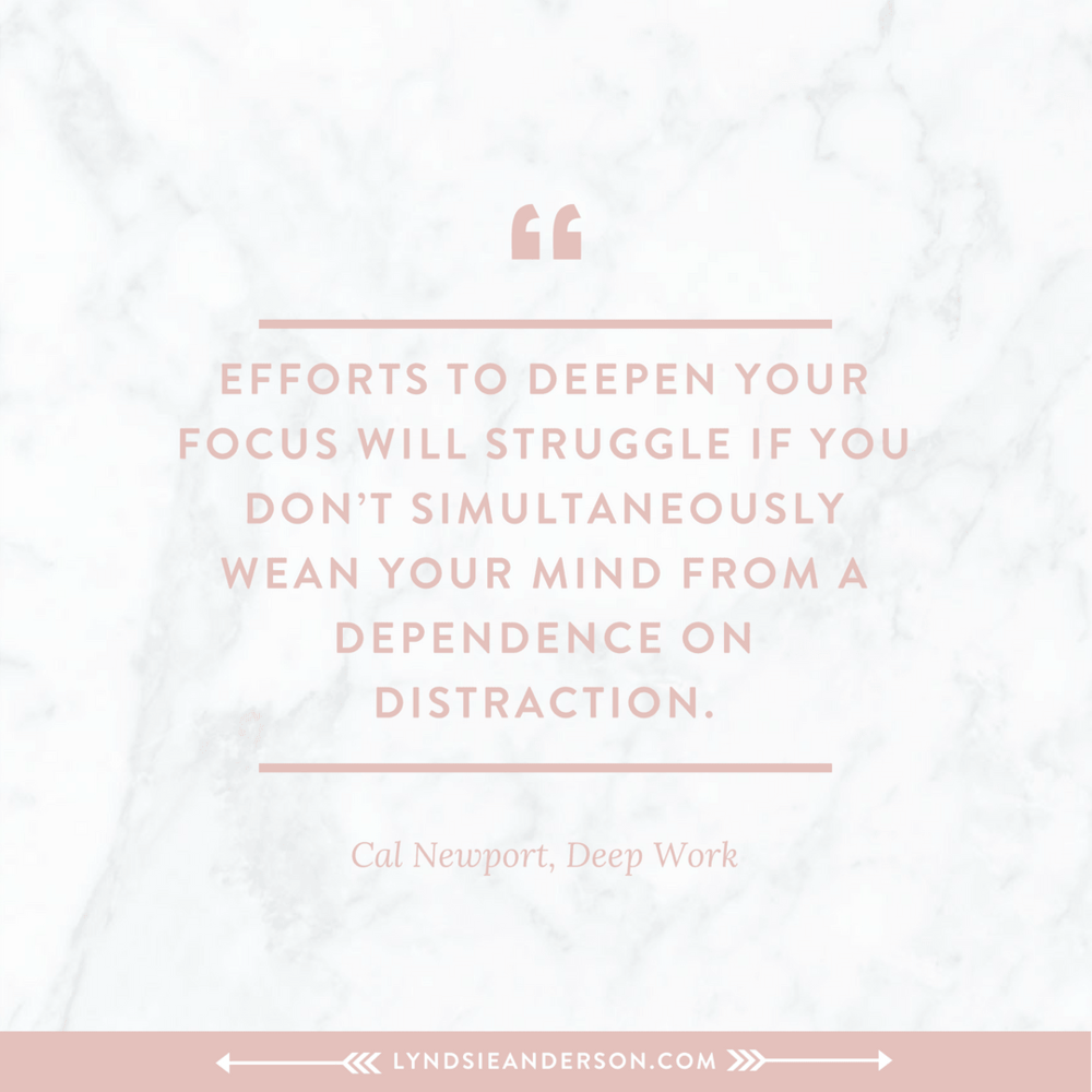 Deep Work quotes by Cal Newport