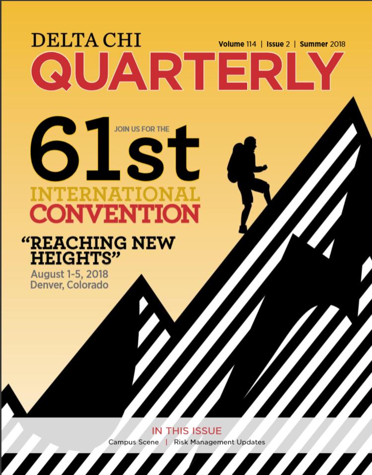 Delta Chi Quarterly Publications The Delta Chi Fraternity