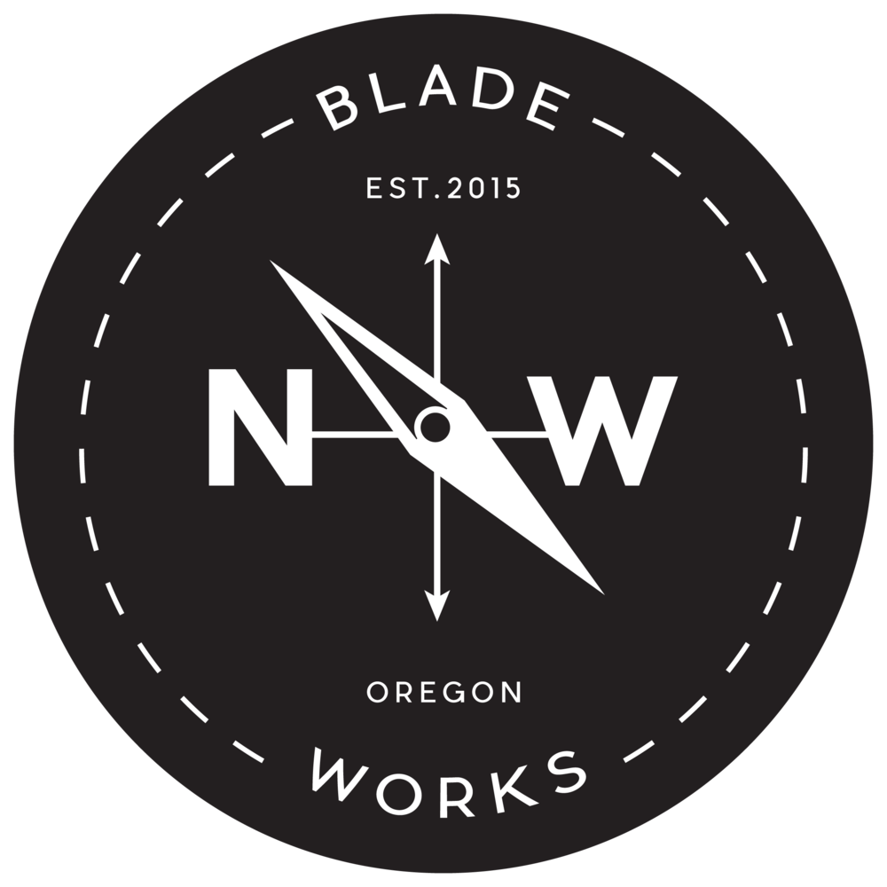 HANDMADE IN THE PNW - Founded out of a passion for craftsmanship and quality tools, Northwest Bladeworks strives to produce heirloom quality, custom-made fixed blade and pocket knives. With an engineering functionality meets aesthetic mindset, all blades are designed and handmade using the highest quality materials in the Pacific Northwest.Each and every blade is individually serialized and carries a consistency of performance, but an individuality that comes with the handcrafted territory. Check out the SHOP for available items, or the filterable ARCHIVES to see examples of my past work.