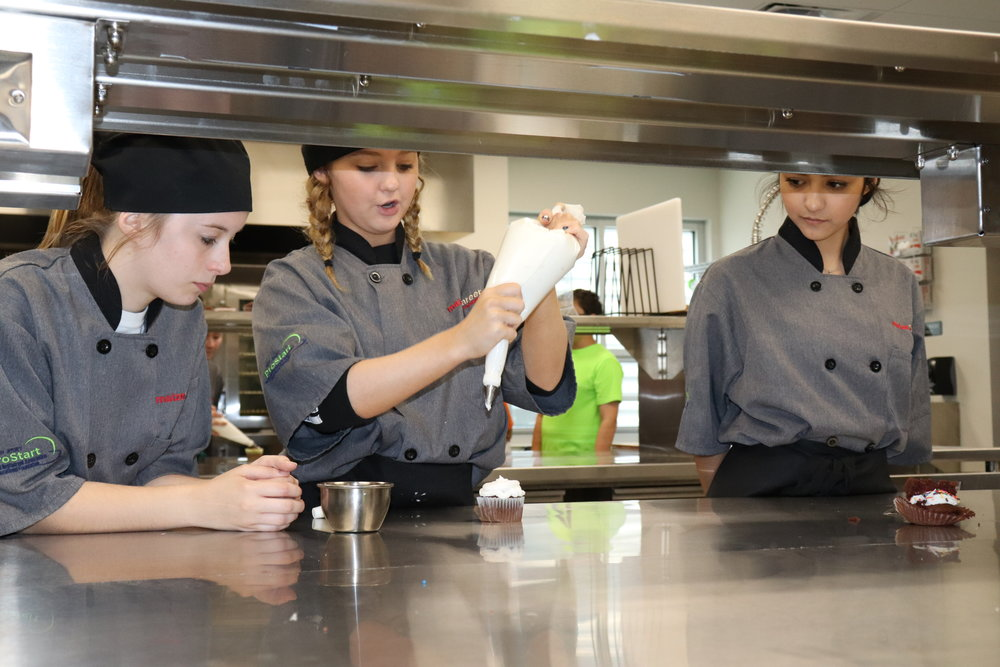 Maize Culinary Arts students